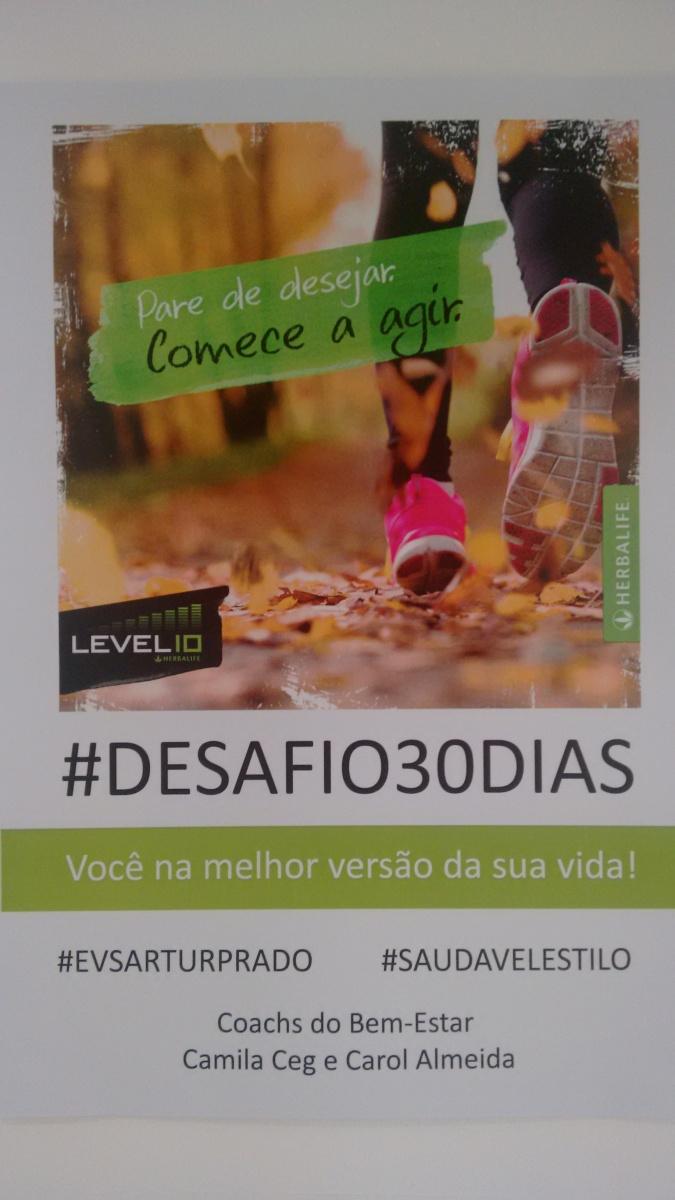 Desafio Herbalife 30 dias